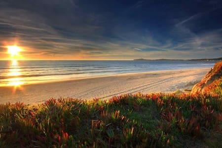 Walk to beach, hear the ocean from the Cottage! - Half Moon Bay - Casa