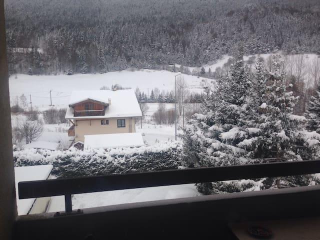 Studio Mezz Balcon Sports d'hiver