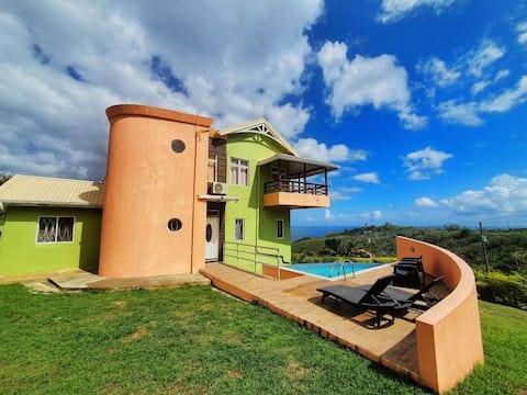 Bocean Villa- Luxury Hilltop Retreat