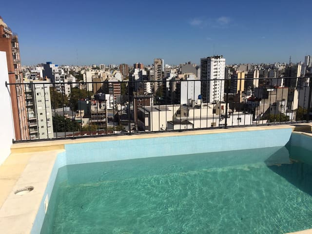 Brand new Studio with Rooftop Pool