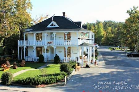 Maison Clauphi House        Vieux-Tadoussac - Tadoussac - Oda + Kahvaltı