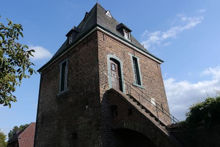 Live in a old tower from 1663 like in a fairy tale - Hünxe - Guesthouse