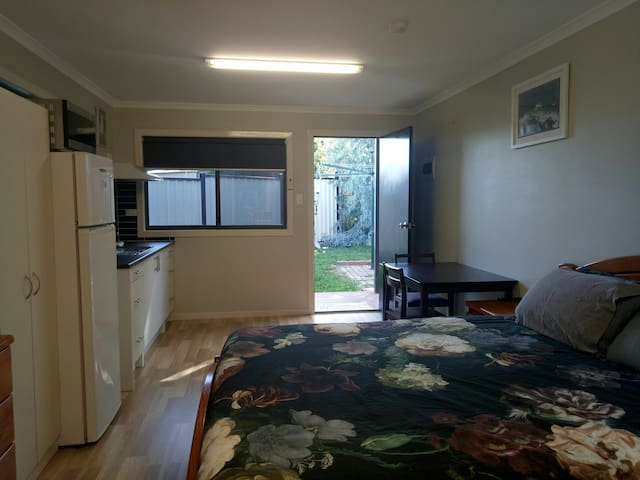 Self-contained Bungalow in Bacchus Marsh area.