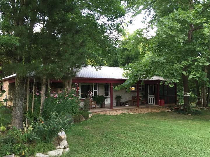 Fresh air, Bright Stars,Clear creek, Farm cabin