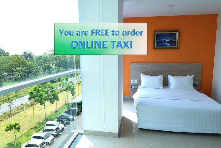 Deluxe Room @ Hotel Fresh One Batam