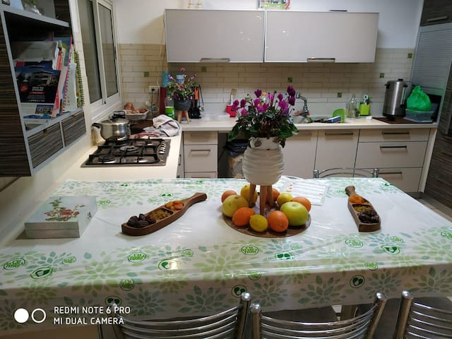 Kosher apartment for shabbat and holidays