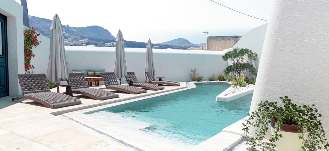 Deluxe Private villa with swimming pool in Pyrgos