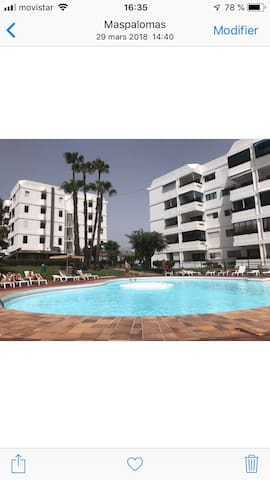 Appartement centre ville Playa del inglés