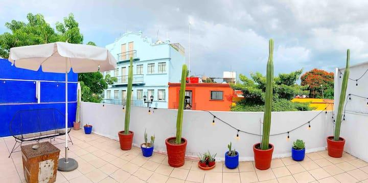 @ Casa Xico w/ Private Terrace  (Historic Center)
