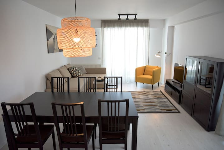 Charming Airport 1 room studio - Otopeni - Apartment
