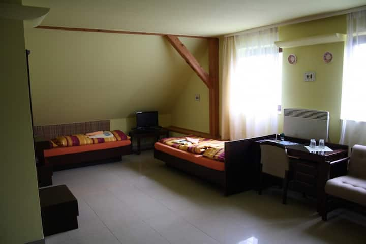 Double room in Pension Kaminek
