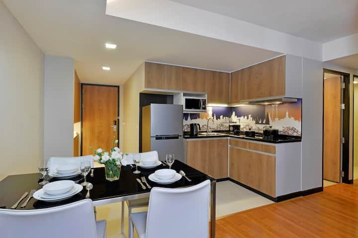 Two Bedroom Deluxe, Citadines Sukhumvit 11 Bangkok