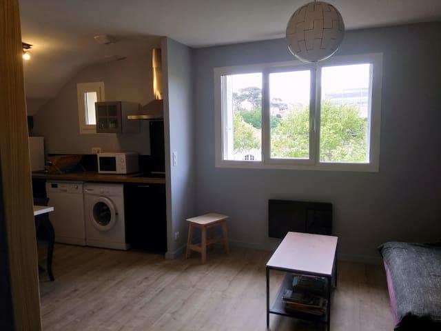 Appartement 2 pièces dans villa Arcachonnaise