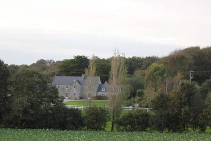 "Manoir de Kerliviry : chambre ""Méana"""