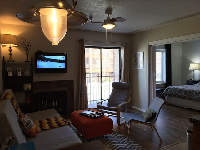 Park City: Modern 1BR 'Better than Main St!' - Park City - Wohnung