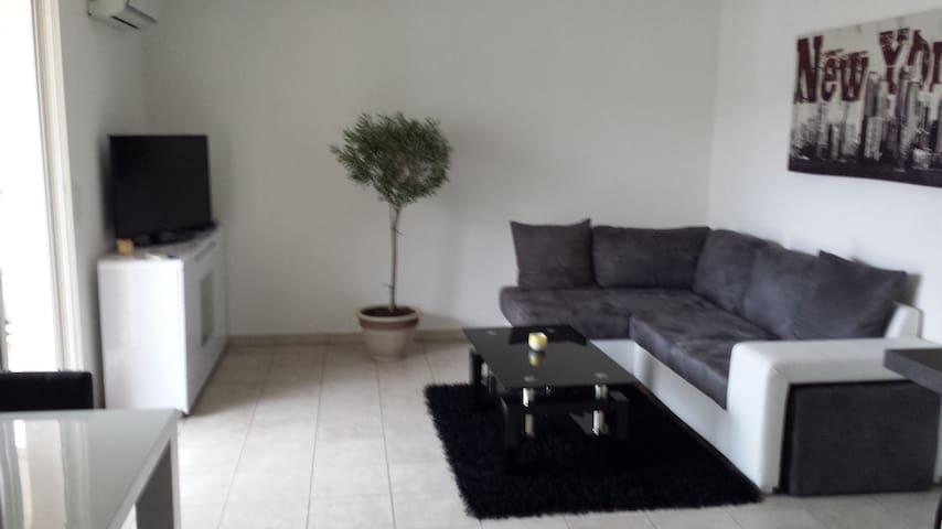 Loue T2 de 48 m2 avec terrasse - Bastia - Apartamento