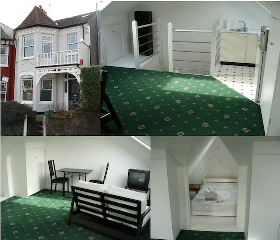 Lovely studio 20 minutes from West End - London - Hus