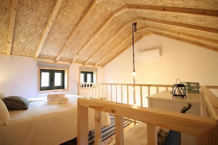 Mezzanine Quinta d'Areda Wine&Pool Experience
