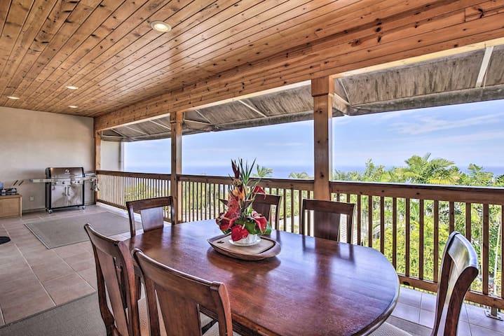 NEW! Cozy Kealakekua Home w/Lanai Near Kailua-Kona