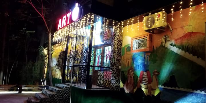 Very convenient location of our hostel ART ANOR!