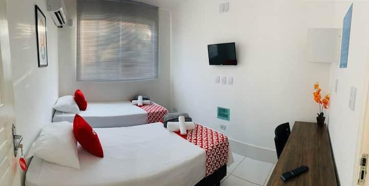 Hotel!! 218 Setor Bueno COM CAFÉ DA MANHÃ