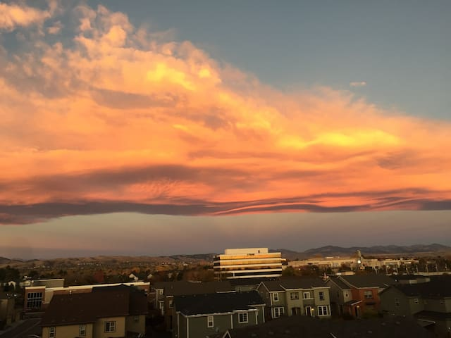 Central and Gorgeous Mountain Views - Denver - Flat