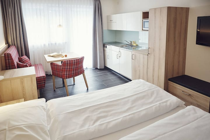 Apartment Solaria Serviced Apartments for 2 persons - Davos - Appartement