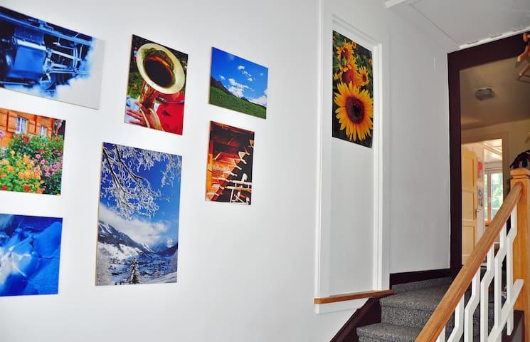 Wohnung im Bergparadies Klosters - Клостерс-Зернойс - Квартира