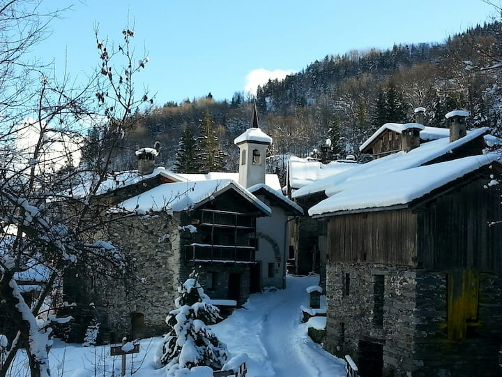 50 m2 house at 3 km from Courchevel