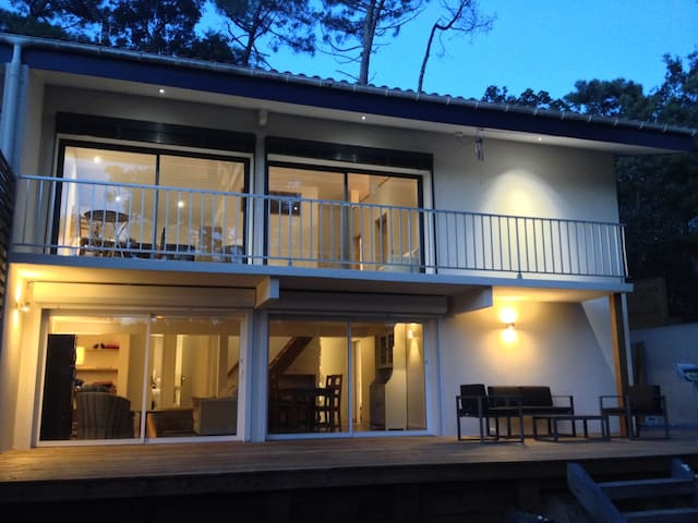Great house between the beach and the lake - Hossegor
