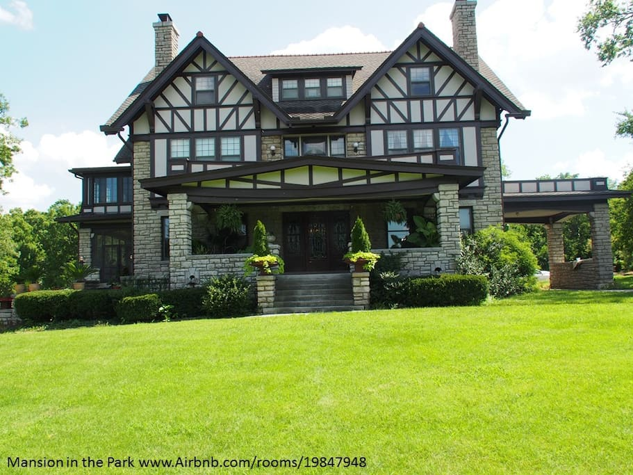 Spend the night - or several - in this mansion on the national historic register.