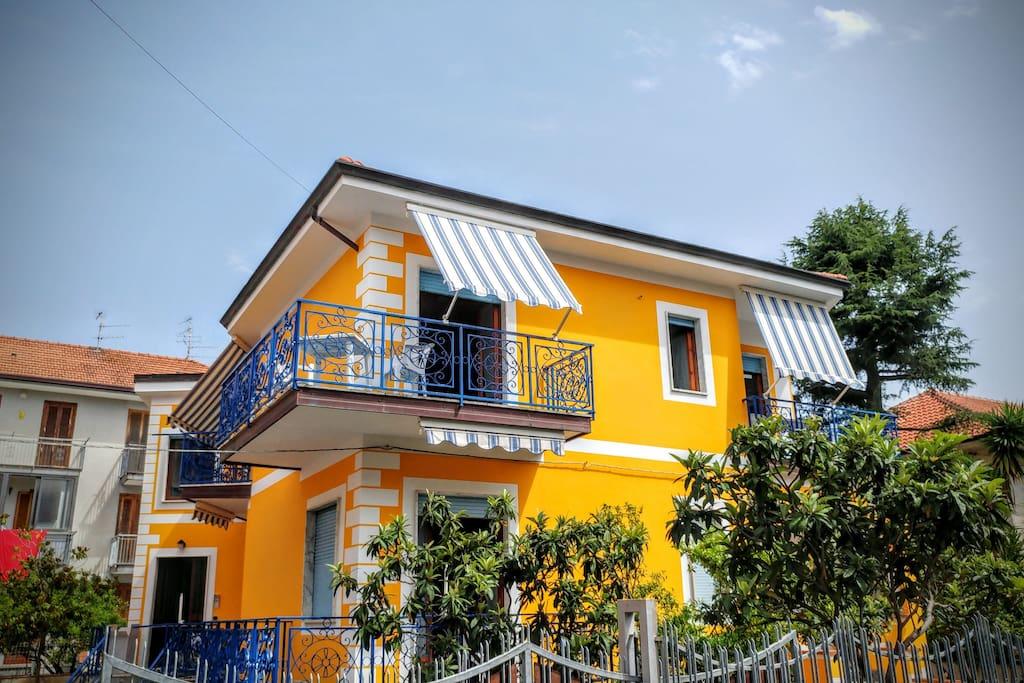 Vista Esterna Casa Francesco