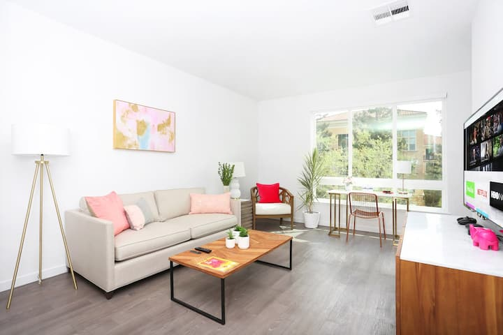 TRIBE ❤️ Deep Cleaned 🧽 Quiet 1BR, North San Jose