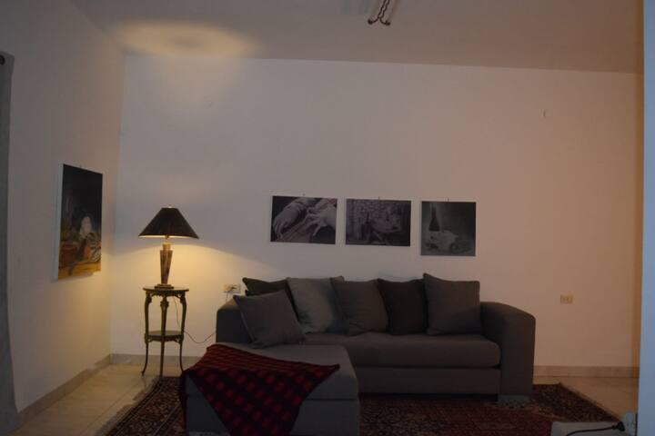 A nice warm comfortable apartment