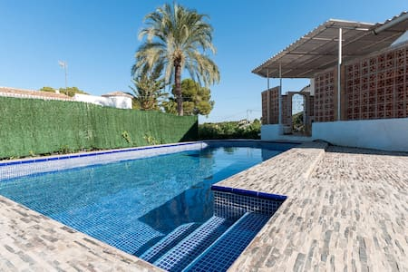 Sandra - Large house with pool for 10 people - El Tosalet