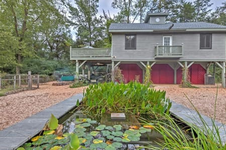 2BR Scottsville Cottage w/12 Private Acres! - Scottsville - Otros