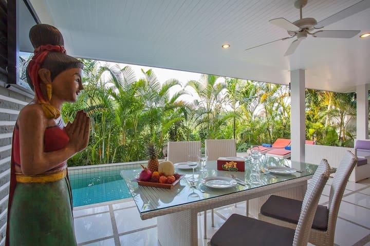 +Peaceful Thai-Balinese Pool Villa, 2 bedrooms+
