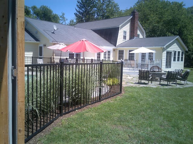 Country Home w/Pool, Privacy, & 2 acres of lawn