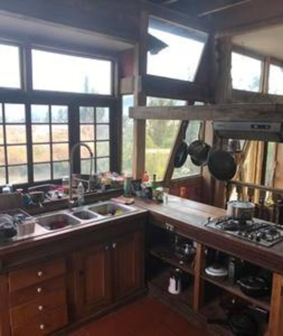 La Cocina en el primer piso