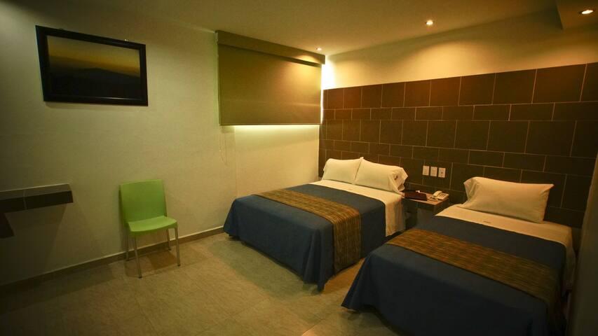Habitación 3 Personas en Texcoco Centro