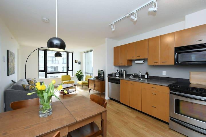 Modern Apartment in the Inner Harbour