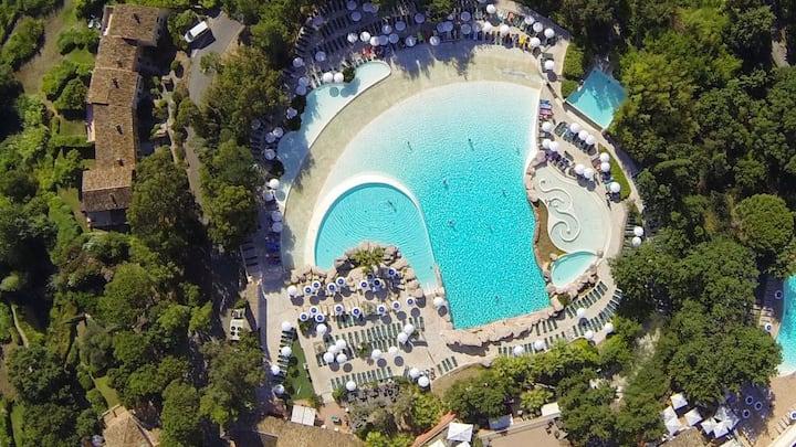 Villa avec jardin Grimaud - Village P&V piscines