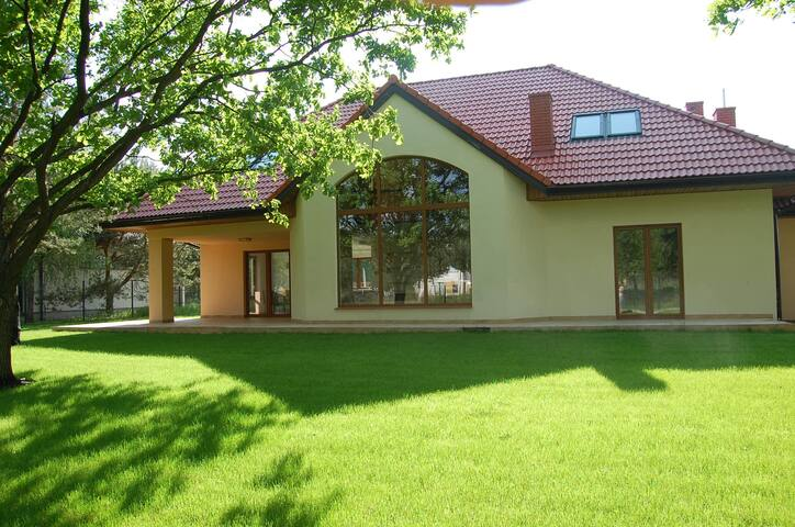 A house near Warsaw and Modlin airport