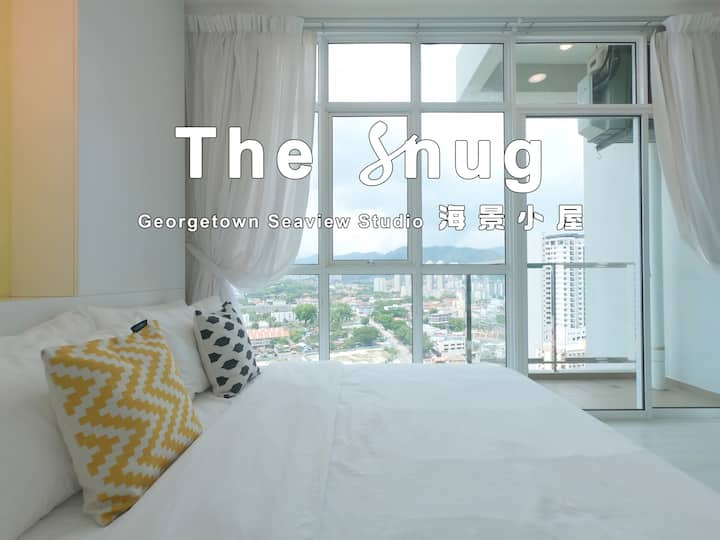 [ The  Snug] Seaview Studio , Fast WiFi , Car Park