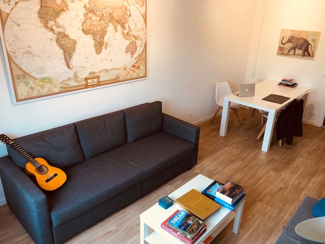 Cool apartment near station in historical centre