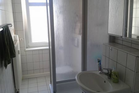 1 privat room in a litle  flat :) - Halle (Saale) - Appartement