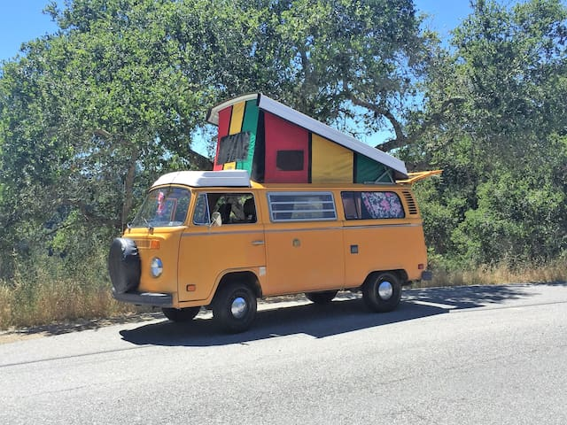 VW Bus - take a trip - Scotts Valley