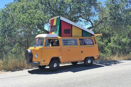 VW Bus - take a trip - Scotts Valley - Autocaravana