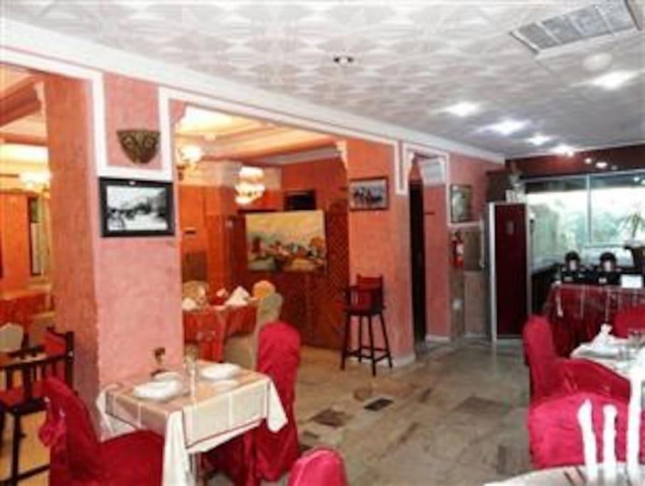 Salle de restaurant Dartlidjene