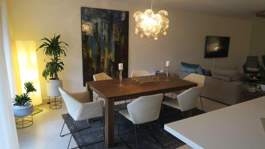 Luxurious flat close to GVA's center /the airport.
